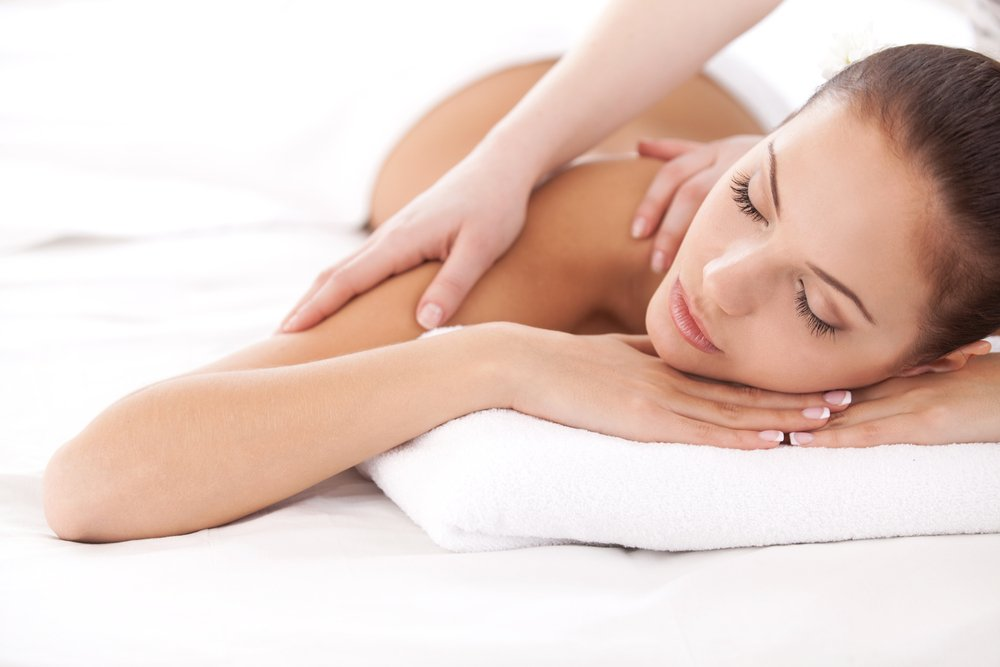 Therapeutic massage is relaxing and beneficial.