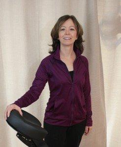 Massage therapist Suzanne Schaper