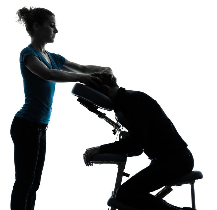 How Chair Massage Can Boost Employee Productivity