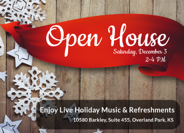 Join Me For My Open House On Dec. 3!