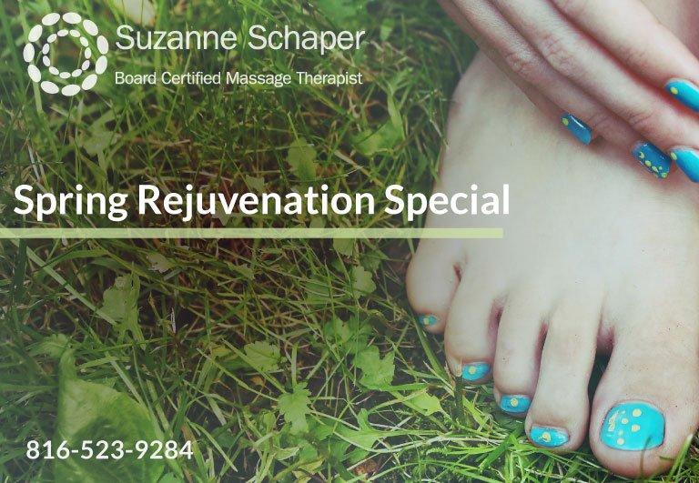 Spring Rejuvenation Special - Suzanne Schaper Massage