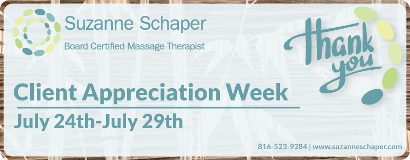 Client Appreciation Week 2017: Massage Specials Just For You!