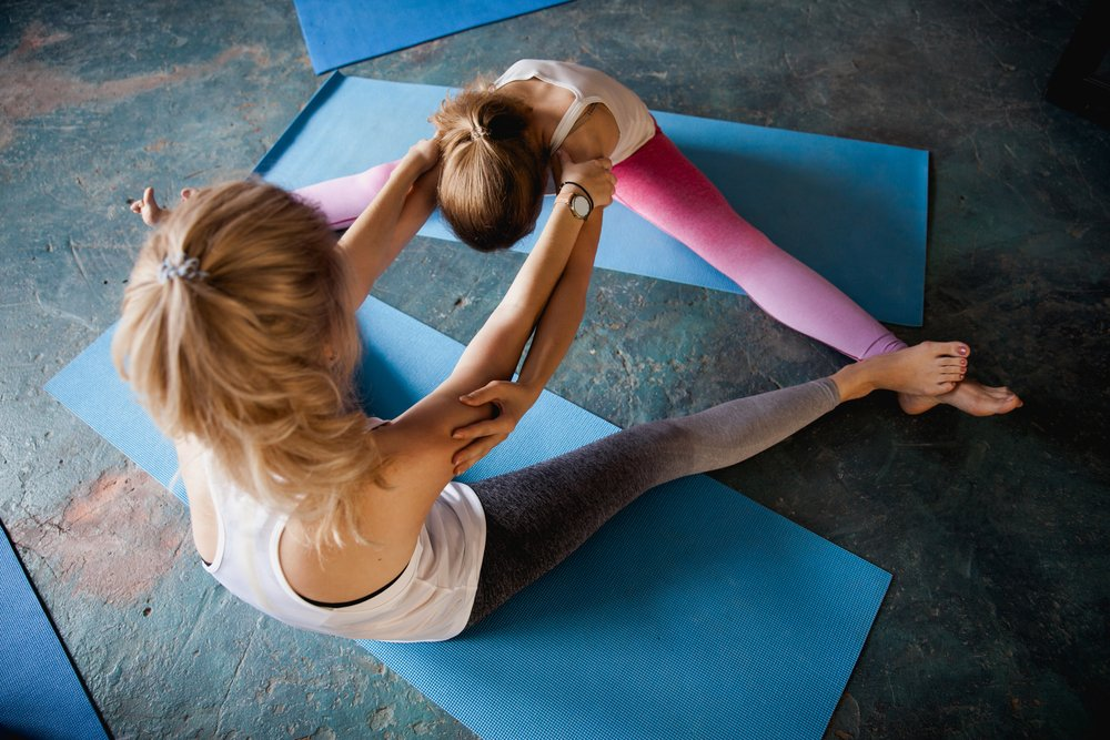 Join Me For A Duo Stretch Class On Sept. 27