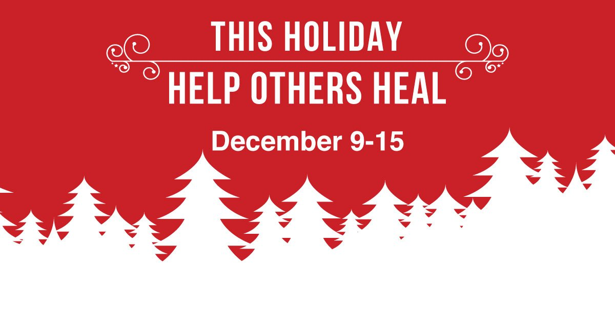 Help Others Heal This Holiday Season