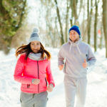 Couple-excercise-winter-season