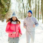 Couple-excercise-winter-season