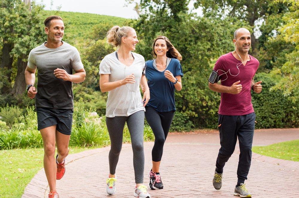 group-jogging